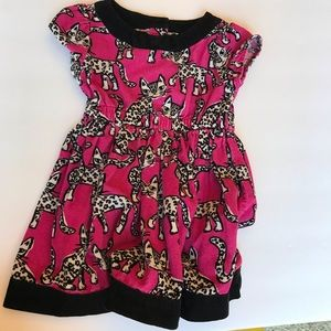 Gymboree Girls Leopard dress 18-24 months